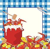 Crab Boil party invitation