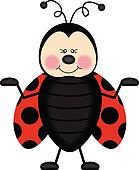 Ladybug Clip Art - Royalty Free - GoGraph