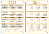 Calendar 20113 - 2014
