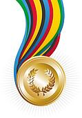 Olympics Games gold medal