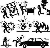 Accident Explosion Danger Risk