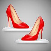Lady's Shoe on Shelf