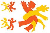 Dancing icons