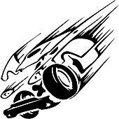 Race car - vector illustration