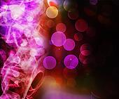 Violet Abstract Smoke Background