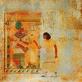 Grunge antique Egypt background