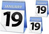 icon calendar Epiphany