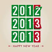 Happy new year 2013 mechanical coun