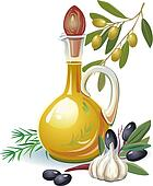 Vegetable Oil Clip Art - Royalty Free - GoGraph