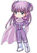 Chibi Super-heroine