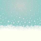 snowflake snow stars blue white background