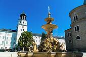 austria, salzburg, residence square