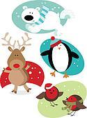 Christmas Fun Animals