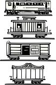 Train Car Collection