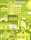 Village - vector illustration