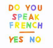 Do you speak french.