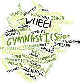 Word cloud for Wheel gymnastics