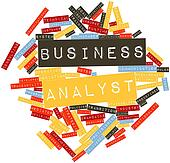 Word cloud for Business analyst