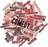 Word cloud for Comedy