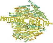 Word cloud for Maternal health