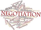 Word cloud for Negotiation
