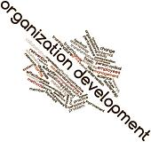 Word cloud for Organization development