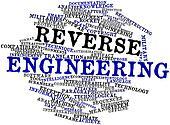 Word cloud for Reverse engineering