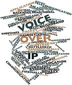 Word cloud for Voice over IP