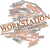 Word cloud for Workstation