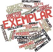 Word cloud for Exemplar