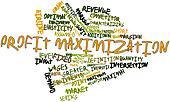 Word cloud for Profit maximization