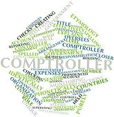 Word cloud for Comptroller