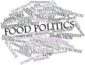 Word cloud for Food politics
