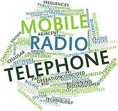Word cloud for Mobile radio telephone