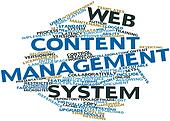 Word cloud for Web content management system