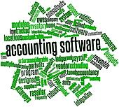 Word cloud for Accounting software