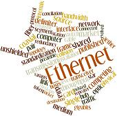 Word cloud for Ethernet