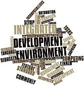Word cloud for Integrated development environment