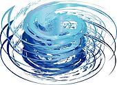 Hurricane icon logo