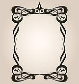 Classical Art Nouveau Frame
