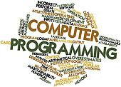Word cloud for Computer programming