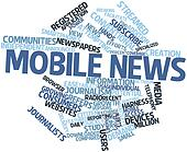Word cloud for Mobile news