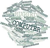 Word cloud for Rugged computer