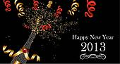 Happy New Year 2013 banner