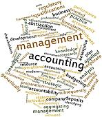 Word cloud for Management accounting