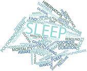 Word cloud for Sleep
