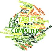 Word cloud for Tablet computer