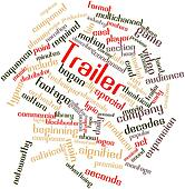 Word cloud for Trailer