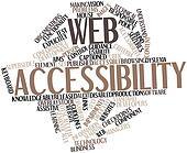Word cloud for Web accessibility