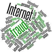 Word cloud for Internet fraud